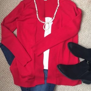 🌹Red Cardigan Sweater🌹